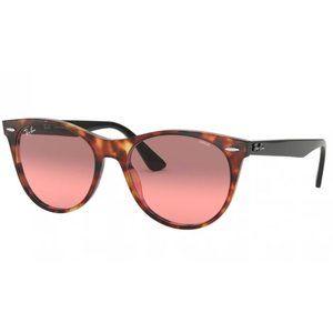 Ray Ban 2185F 1249 Red Havana/Black Sunglasses